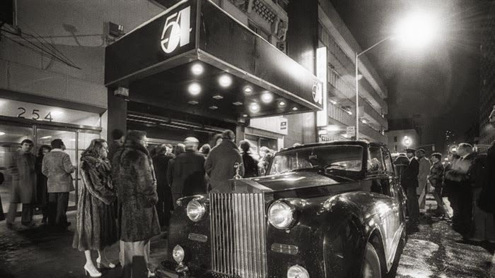 The legendary Studio 54 at 254 54th Street, midtown Manhattan, New York City