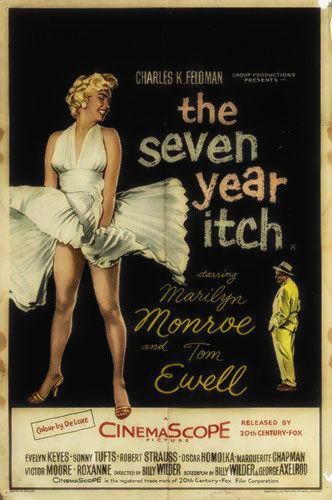 """Seven Year Itch"" film poster"