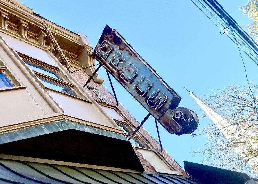 Lambertville PA, a former Drugstore.