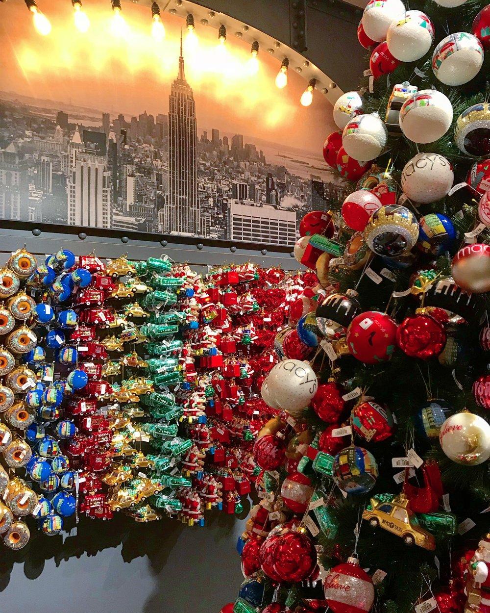 NYC Christmas Ornaments