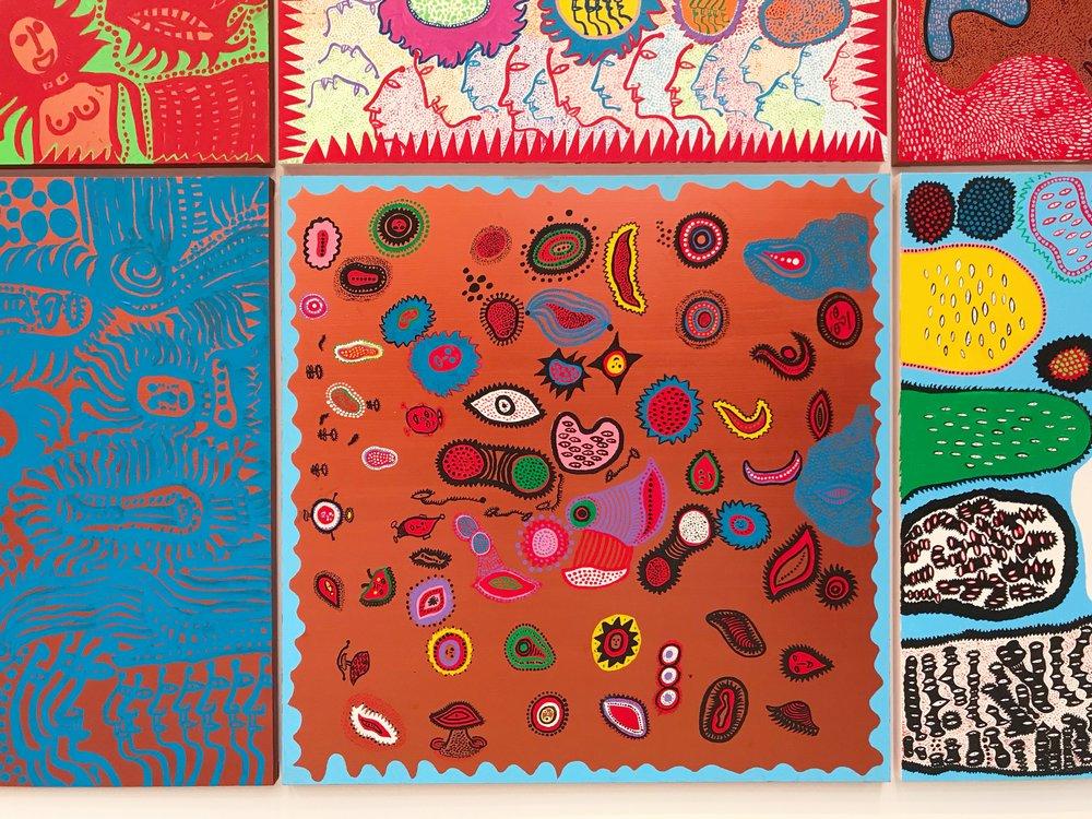 Yayoi Kusama Paintings