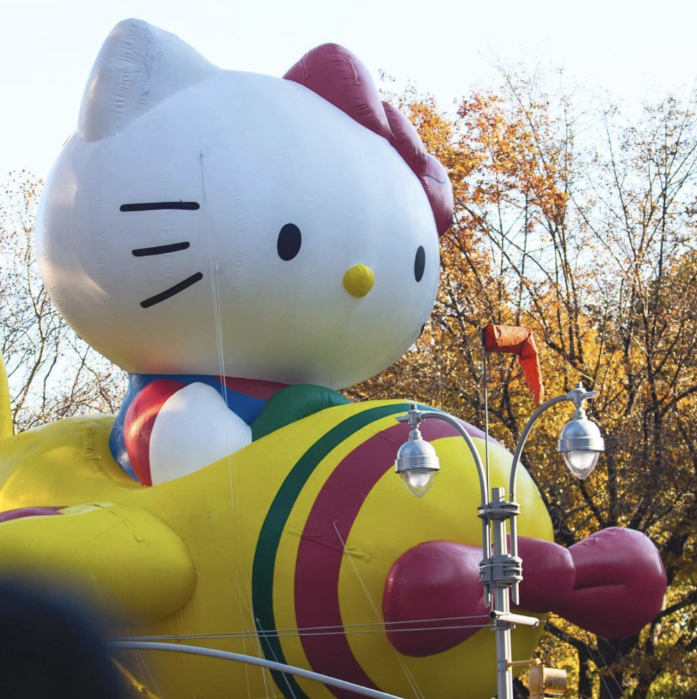 Hello Kitty at Macy's Thanksgiving Parade 2017