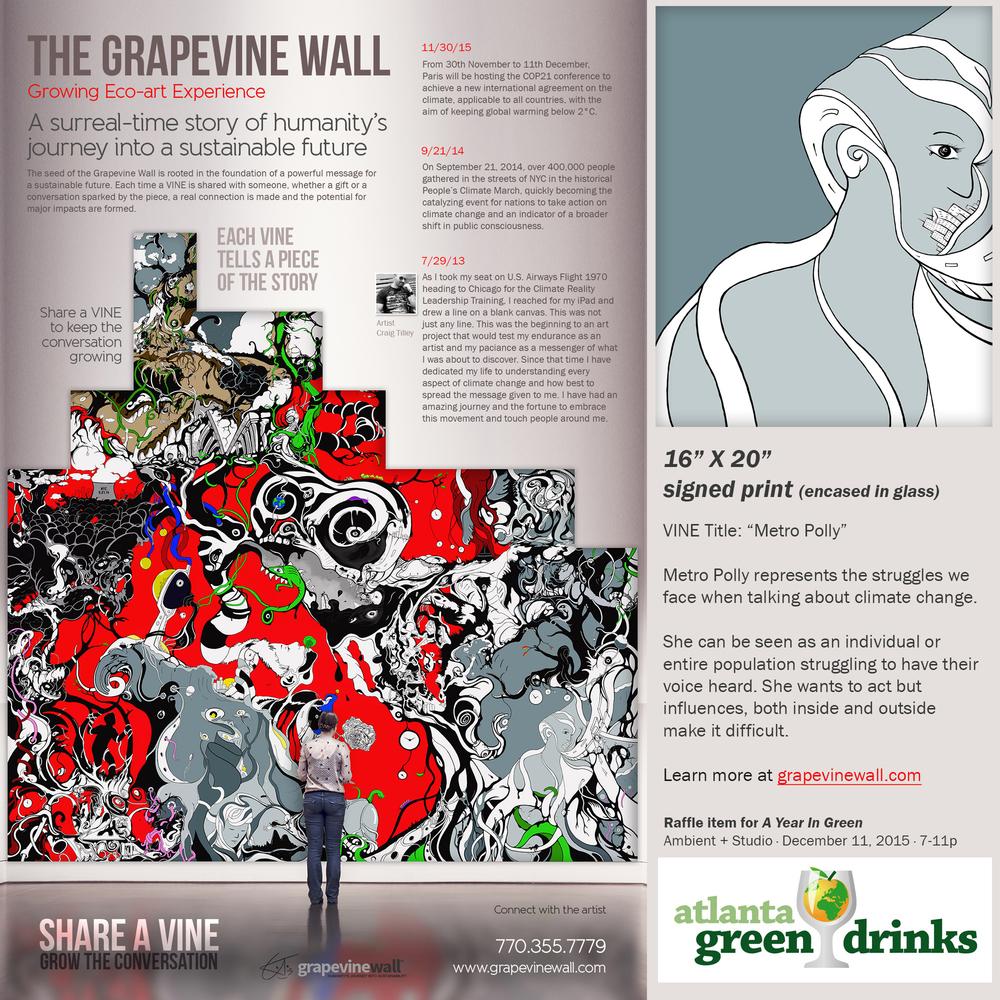 """Grapevine Wall"" Artwork"