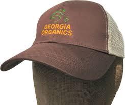 Georgia Organics Branded Hat
