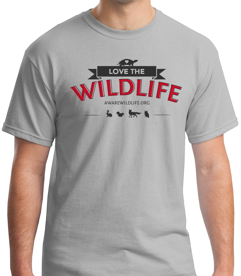 "AWARE Wildlife Center ""I Love Wildlife"" T-shirts"