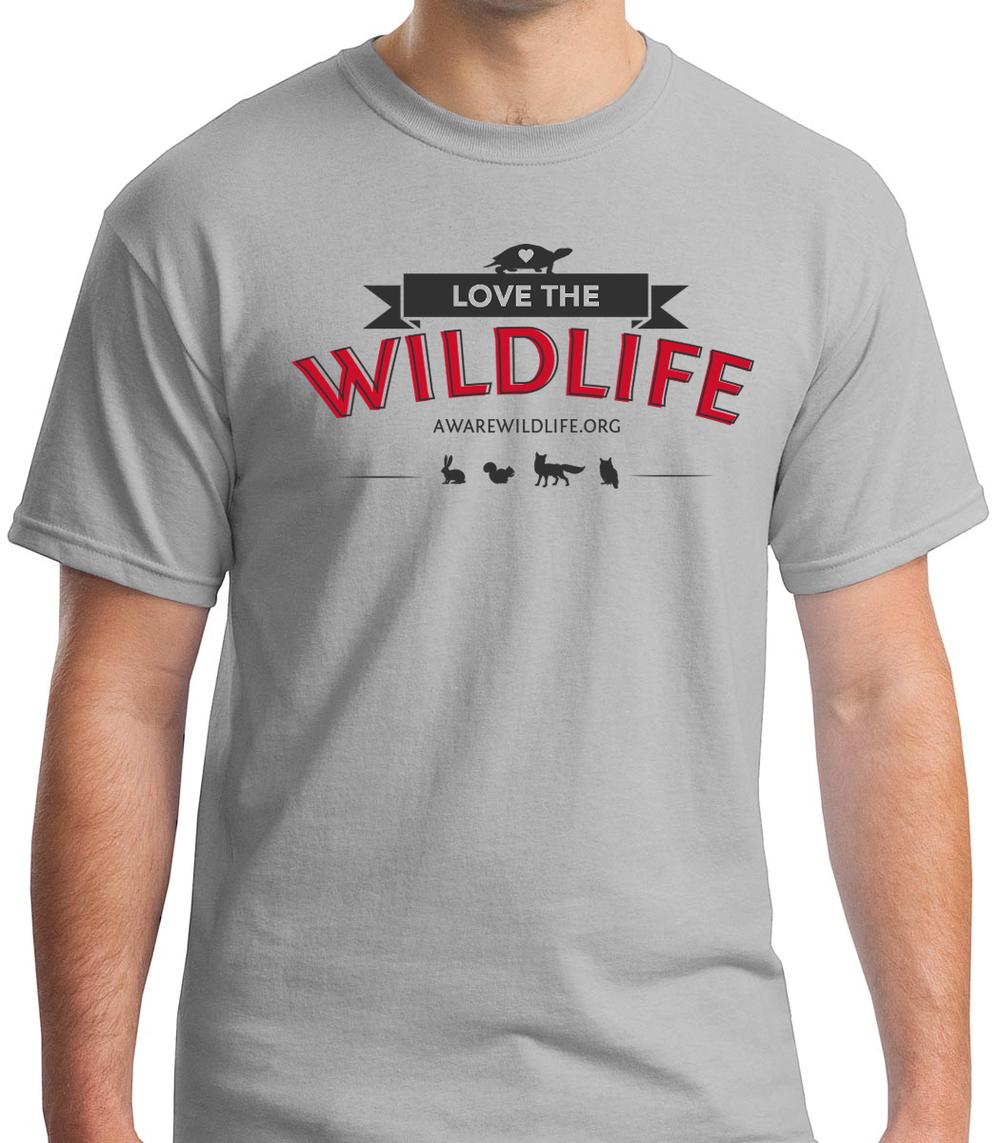"AWARE Wildlife Center ""I Love Wildlife"" T-shirts"