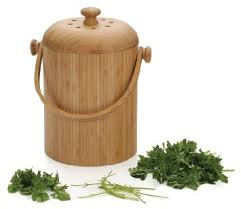 RSVP Bamboo Counter Composter Pack