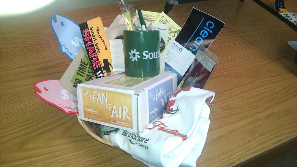 EarthShare of GA Assorted Swag Basket