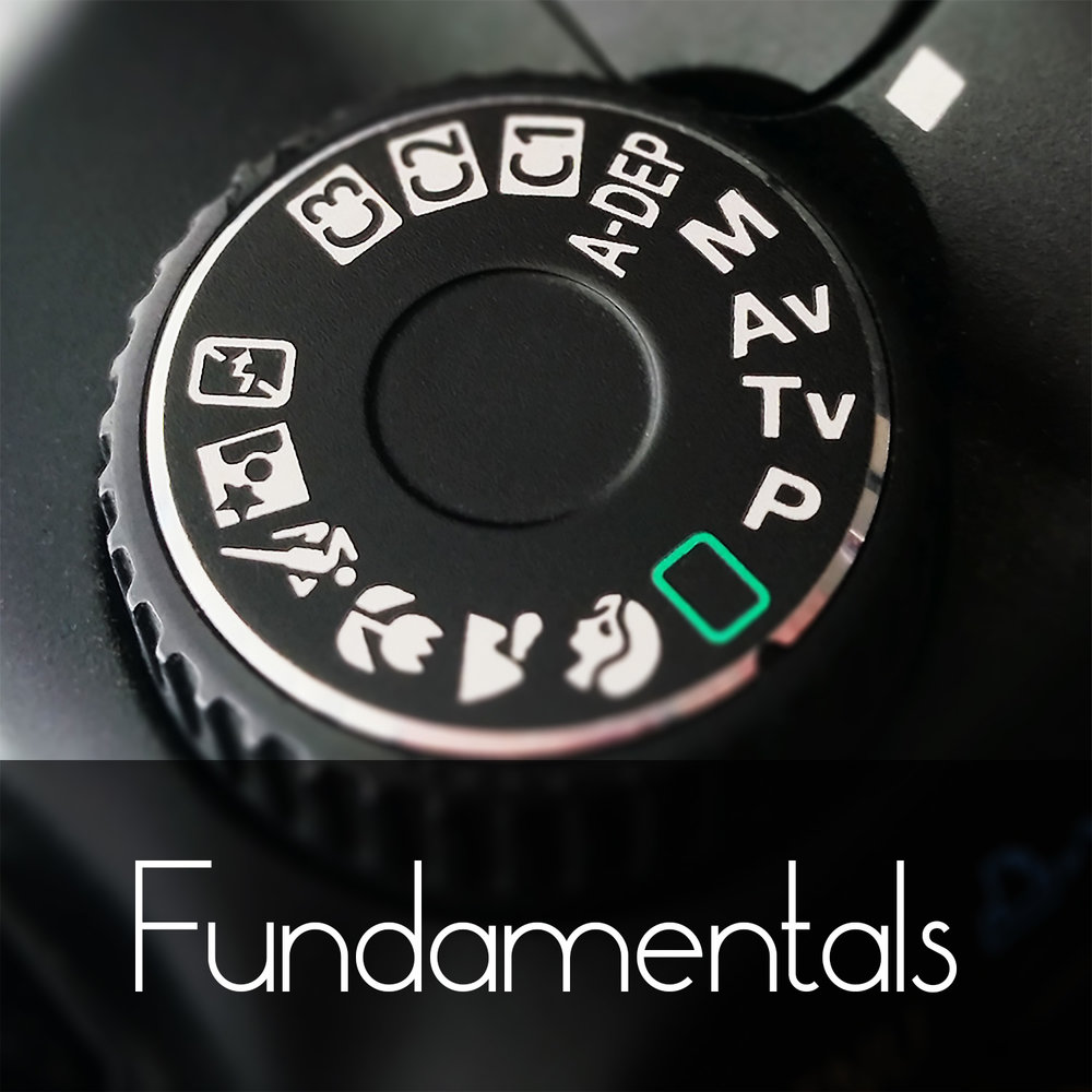 Fundamentals of Photography:  Starting from square one? We got you covered! Learn everything you need to start shooting in Manual.