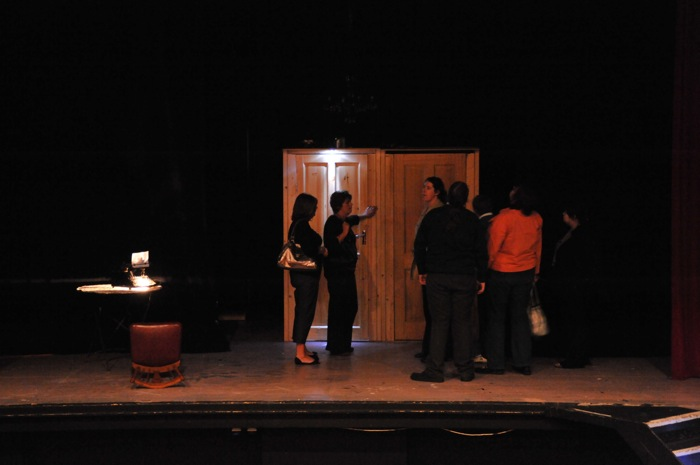 Richard Carr, Black Box, Sound Installation 3, Gorey Theatre 2008.JPG