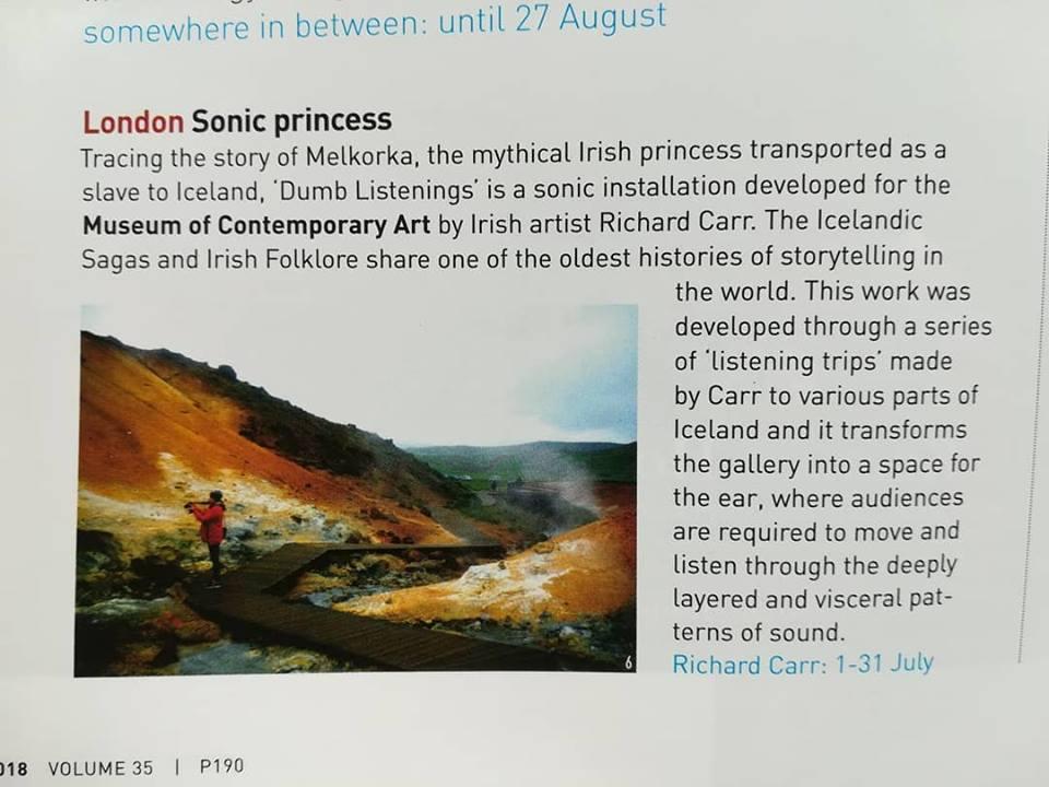 article Irish Arts Review