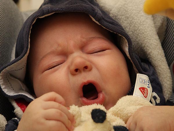 If you have a newborn or infant with noticable bad breath, take them to the doctor immediately as it may be a sign of an infection.