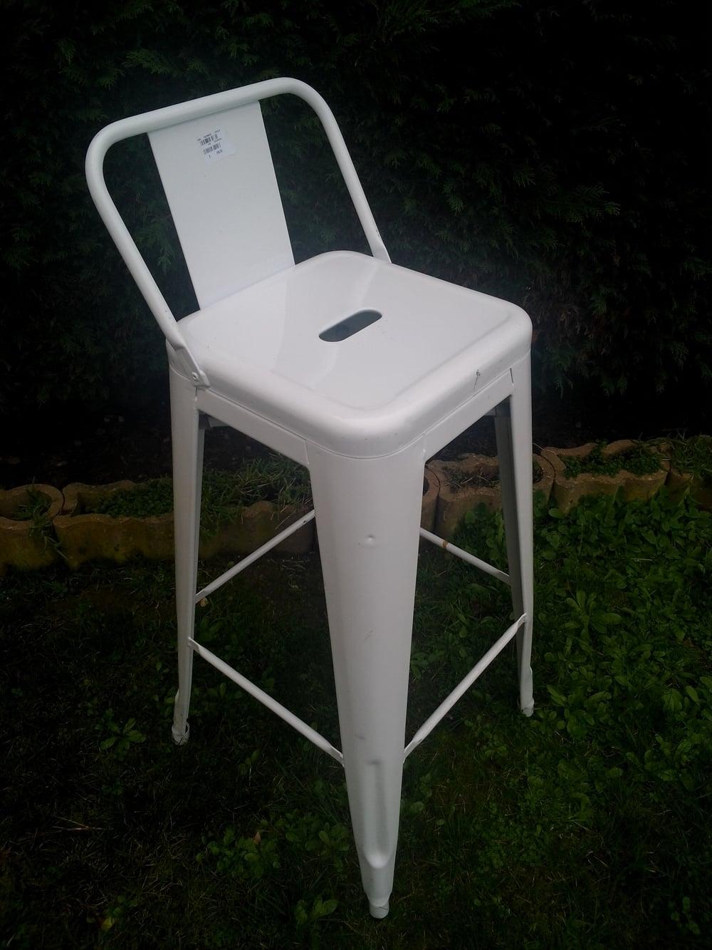 12 Tolix stoler 4 vintage, 8 nye kr 2000 3000 (solgt) — Fransk