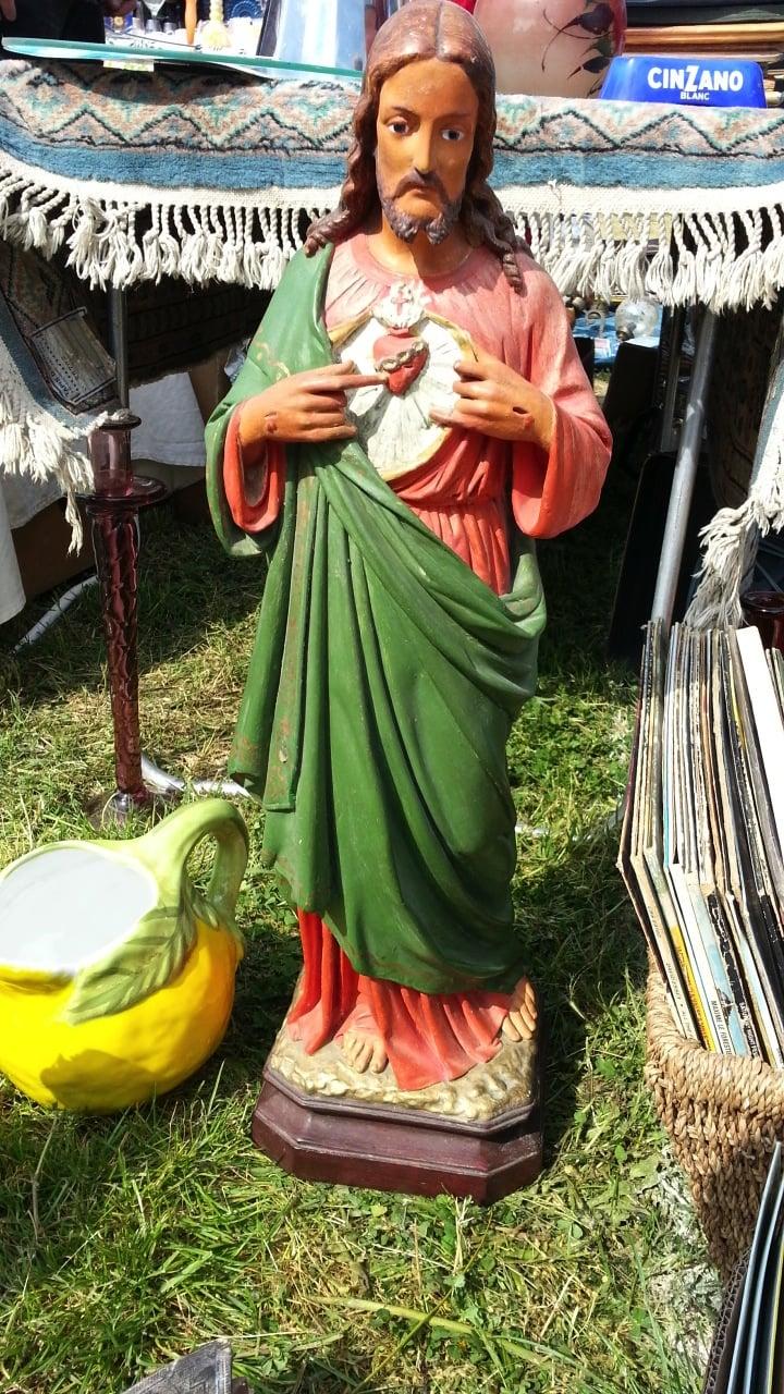 stor jesus Figur