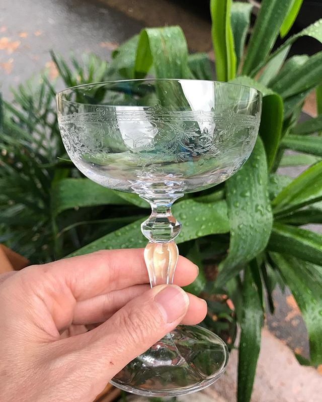 24 Coup de Champagne kr 249 each (crystal  9,5x13,5h)