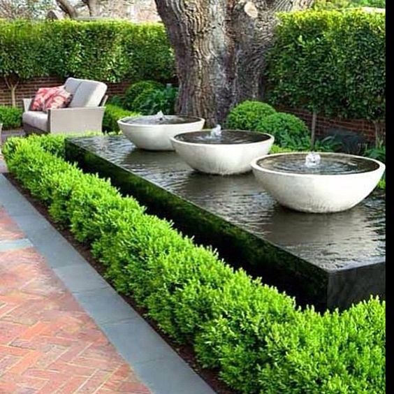 Water Feature - Bring the sound of nature to your doorstep, by having a one-of-a-kind water feature designed for you in mind.