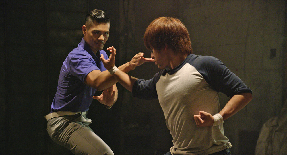 Action Director/Actor Ken Quitugua and Actor Andy Le