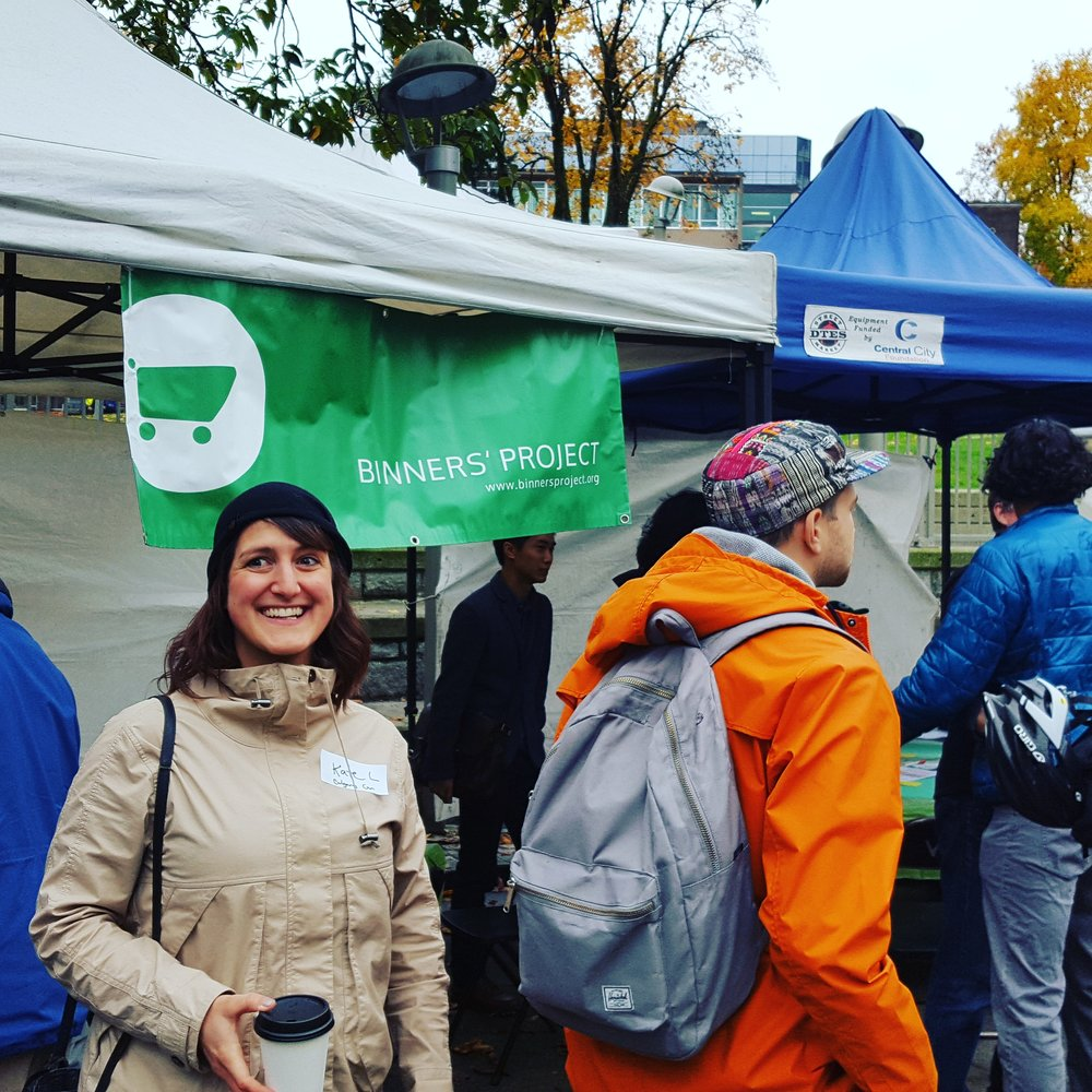Kate (pictured here) and Jessi attended the Coffee Cup Revolution in Vancouver last October and participated in the world cafe.