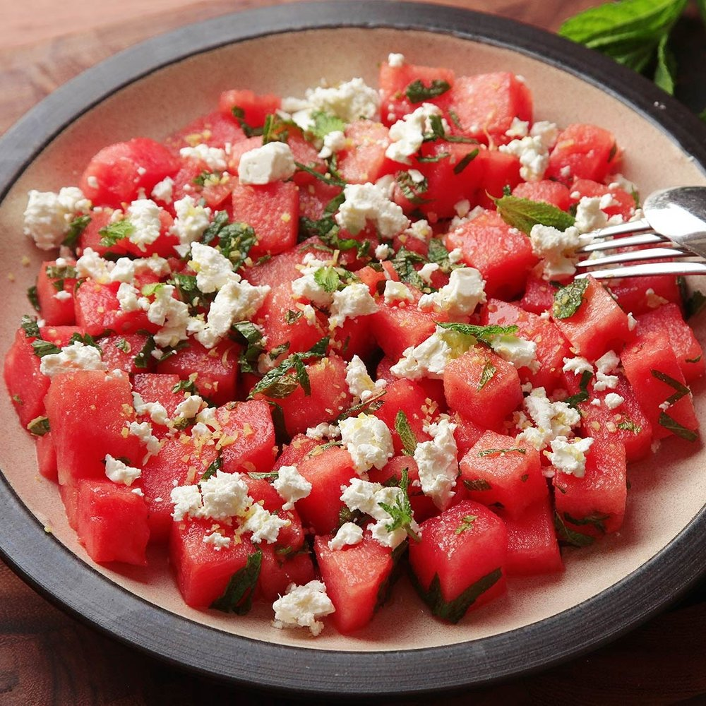 Watermelon Salad -