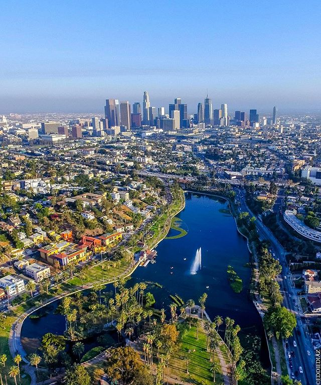 We are apart of such an Amazing City! // #el7mares #drone #losangeles