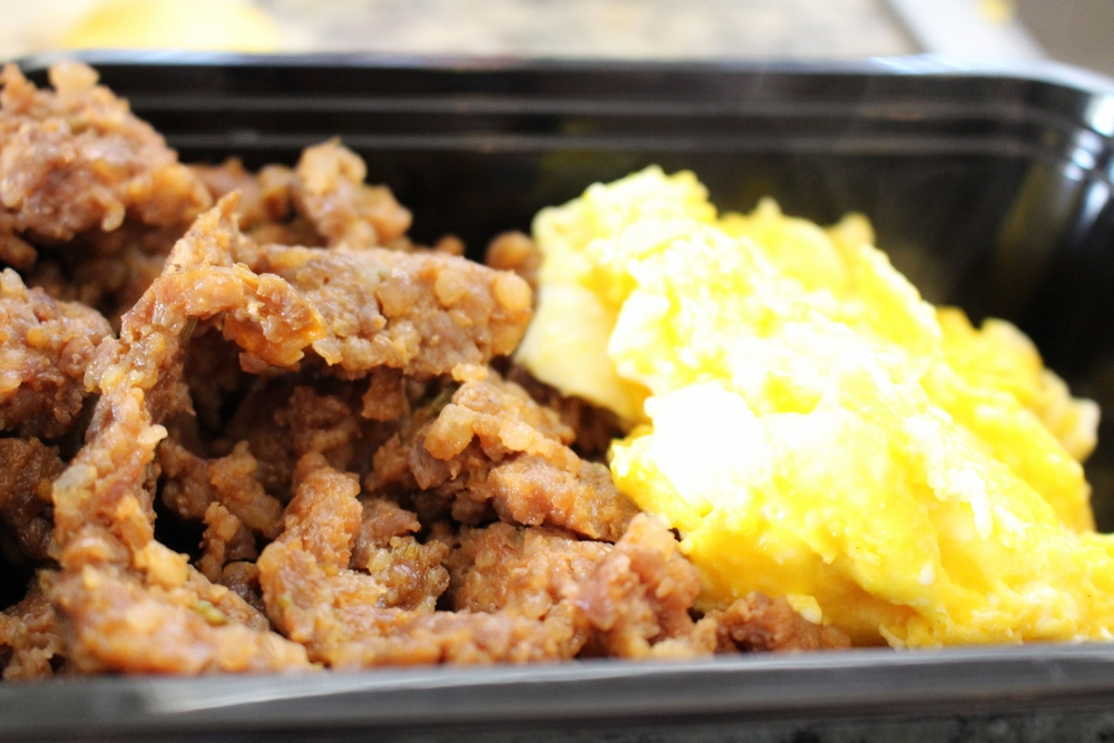 Lunch: Breakfast for lunch! Some good ol' Sausage and Eggs!