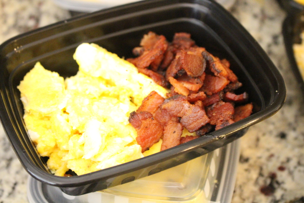 Bfast: Eggs and Bacon Bites!