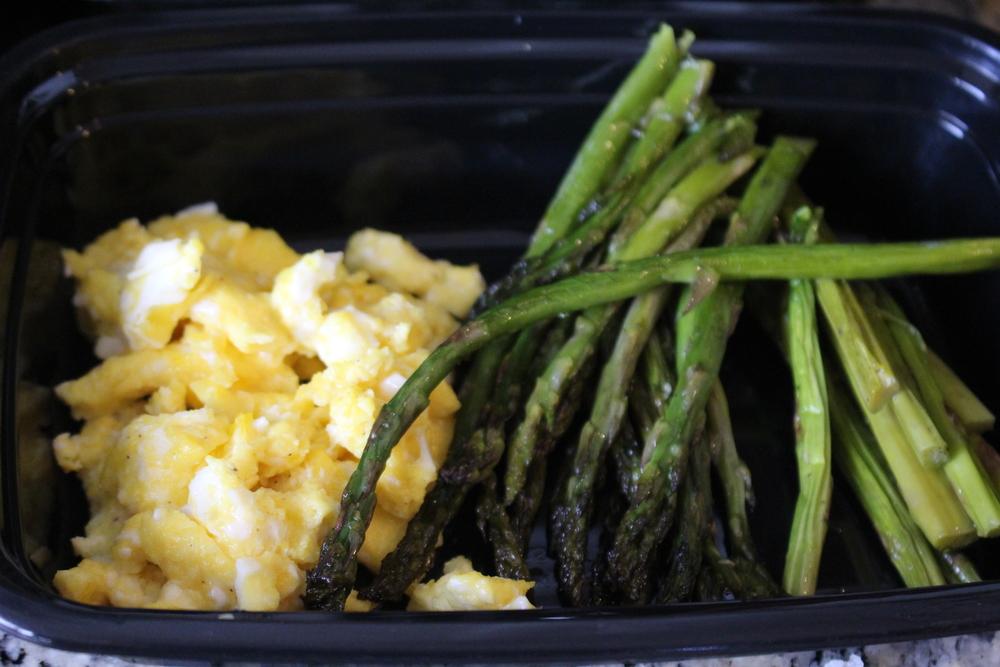 Breakfast: Eggs and Asparagus!