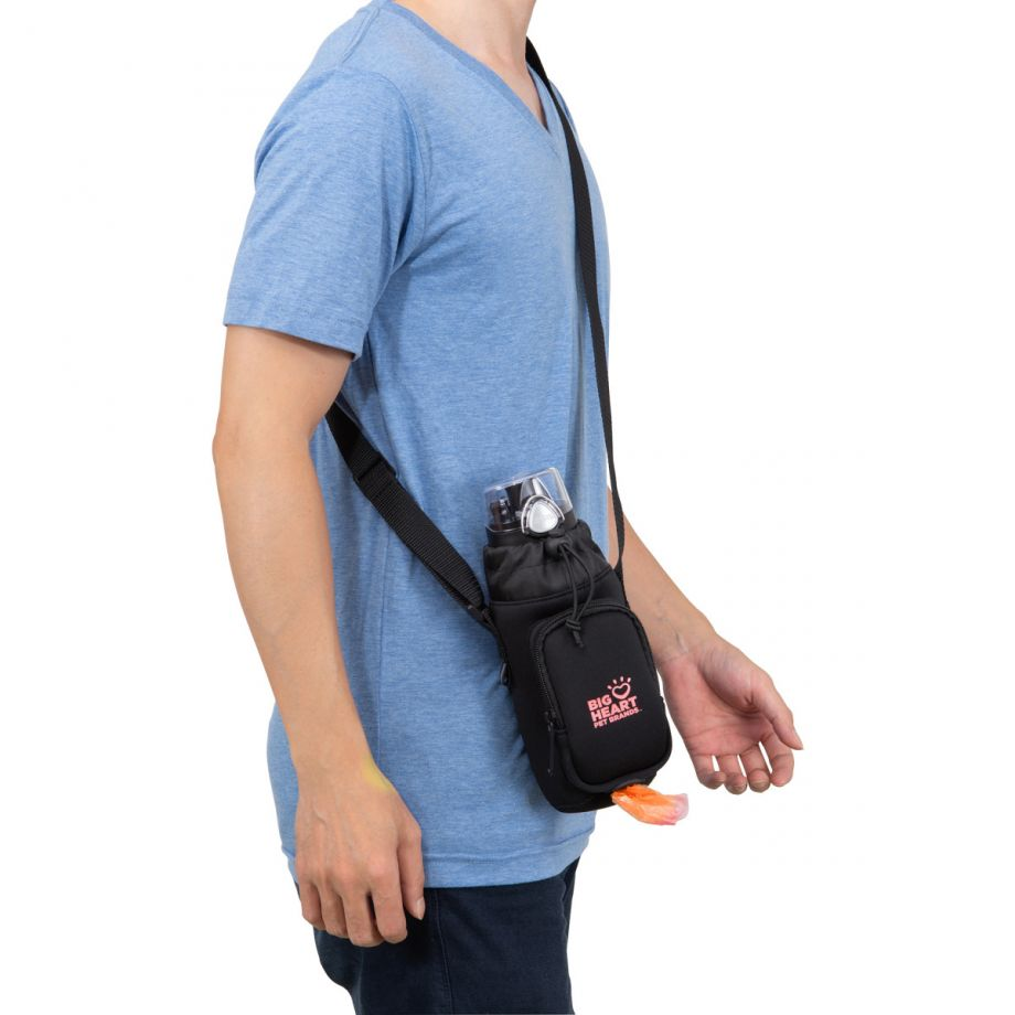 This sling can be comfortable worn for daily walks or longer hikes.