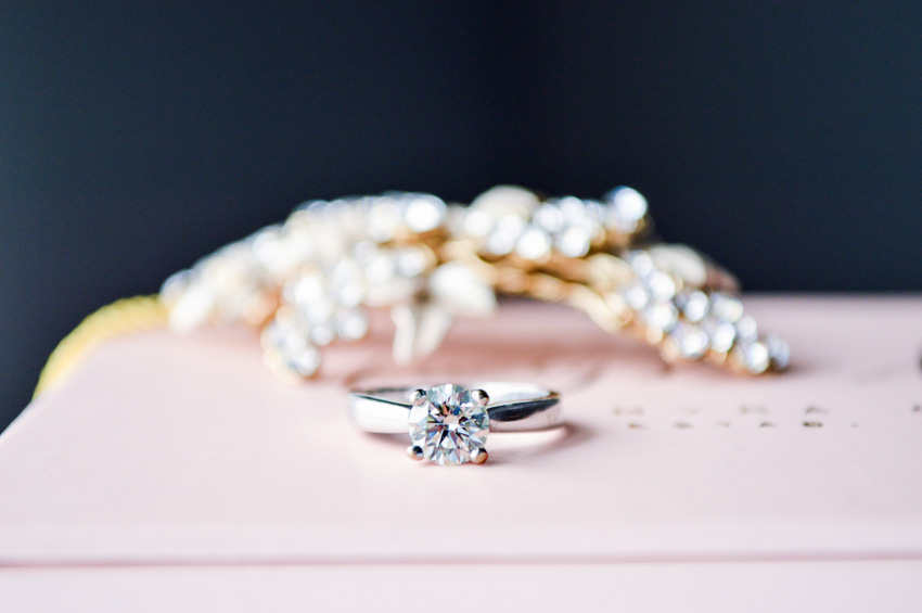 Sparkling Engagement Ring | Timeless | Wedding | Chester County, PA | Krista Brackin Photography