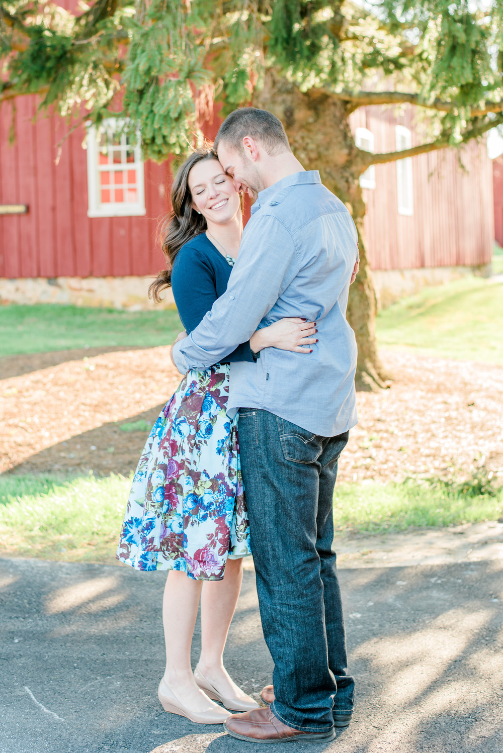 Spring Engagement Session in Chester County, PA | Krista Brackin Photography