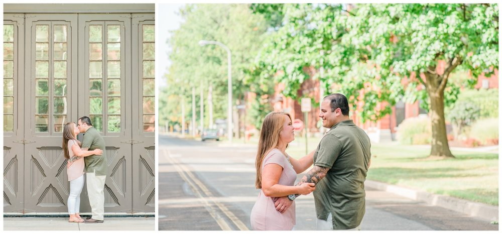 Jackie And Dion Philadelphia Engagement Session