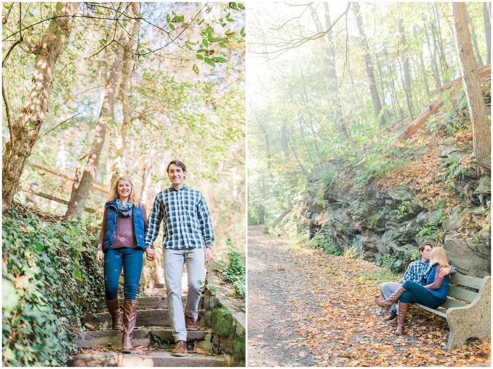 Erin and Greg - Beautiful Fall Wissahickon Park Engagement Session_0030.jpg