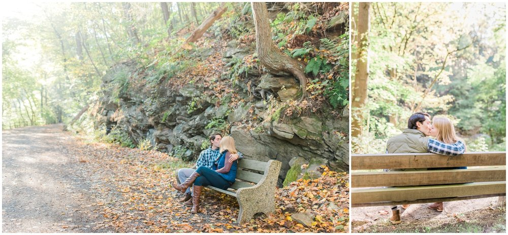 Erin and Greg - Beautiful Fall Wissahickon Park Engagement Session_0031.jpg