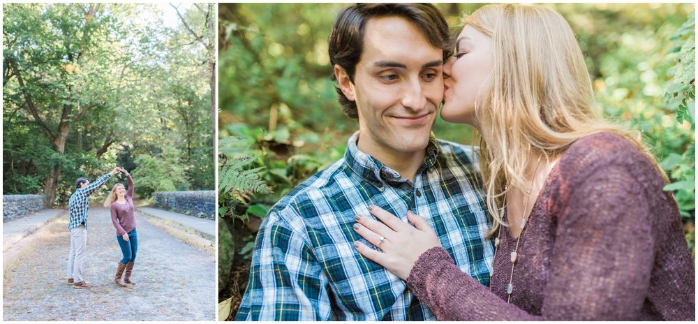 Erin and Greg - Beautiful Fall Wissahickon Park Engagement Session_0034.jpg