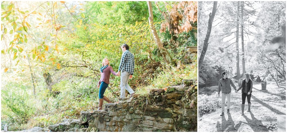 Erin and Greg - Beautiful Fall Wissahickon Park Engagement Session_0038.jpg