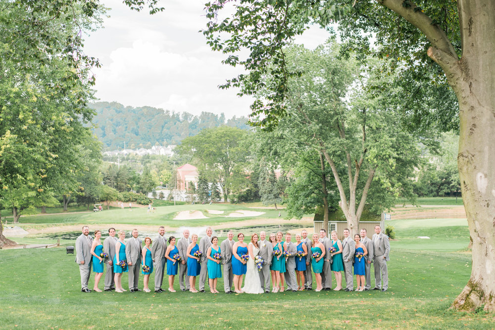The Downingtown Country Club Wedding | Summer Wedding | Krista Brackin Photography