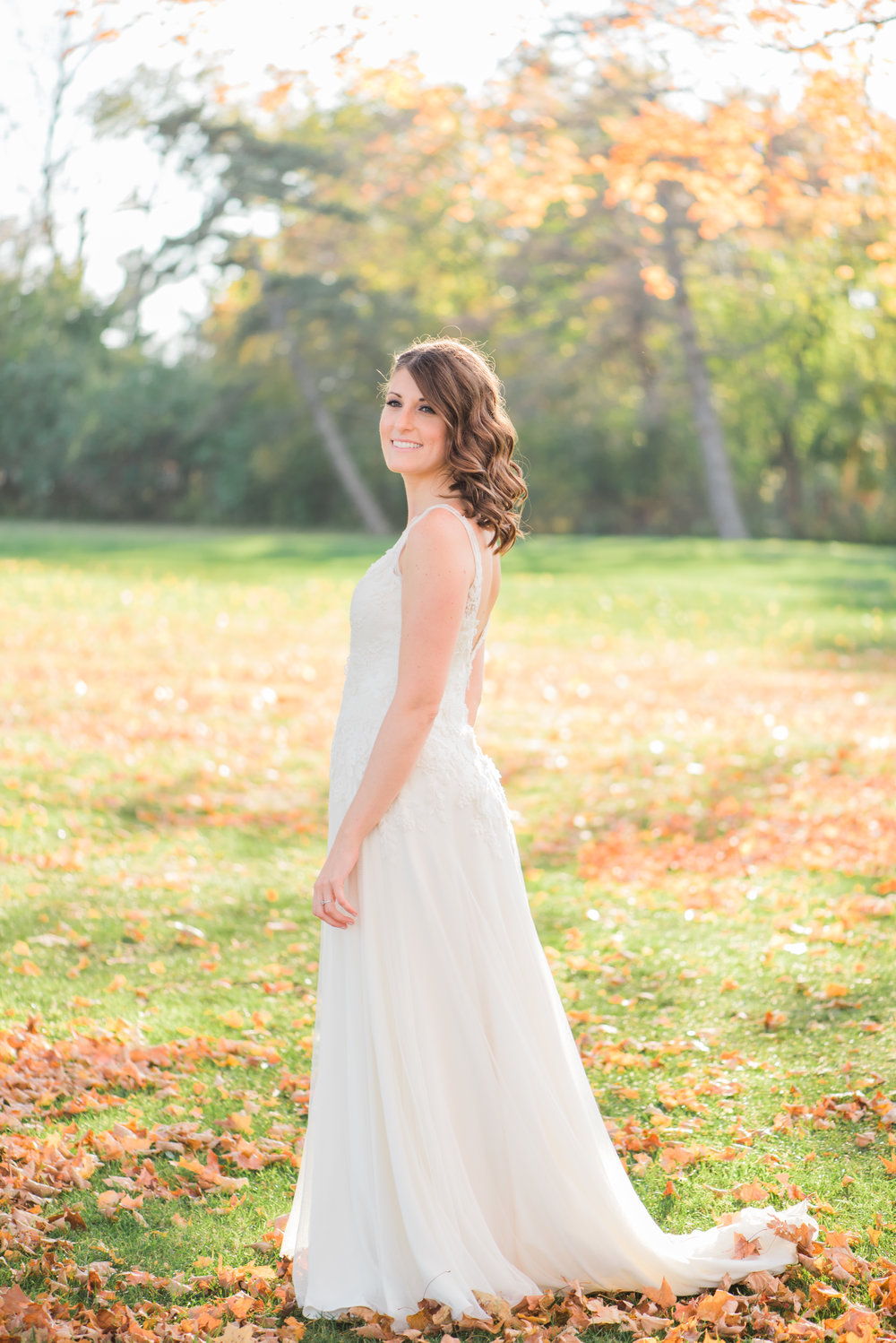 Fall Wedding at The Flourtown Country Club | Bride | Groom | Krista Brackin Photography