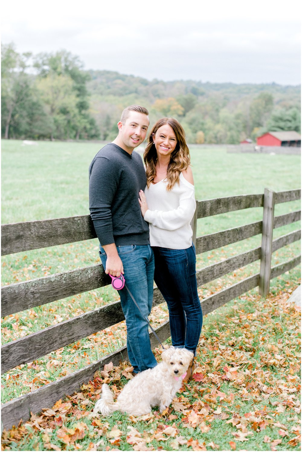 Fall Springton Manor Farm Engagement Session - Krista Brackin Photography_0016.jpg