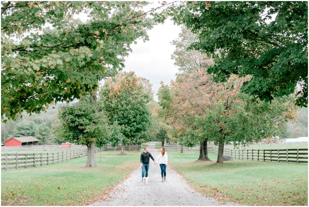 Fall Springton Manor Farm Engagement Session - Krista Brackin Photography_0020.jpg