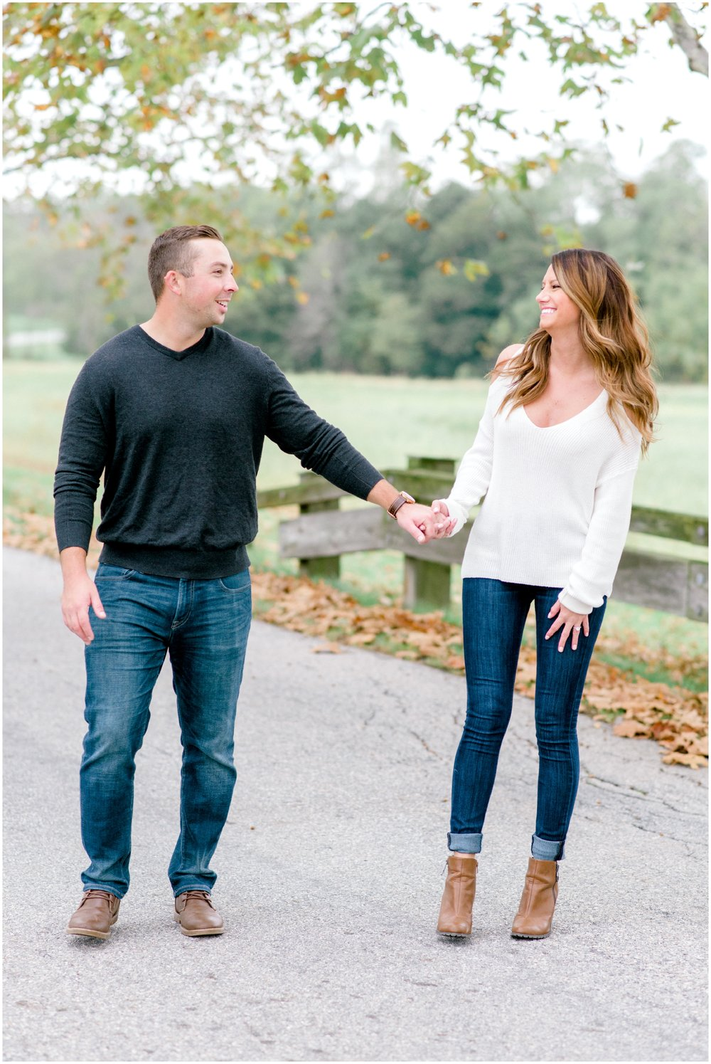 Fall Springton Manor Farm Engagement Session - Krista Brackin Photography_0030.jpg