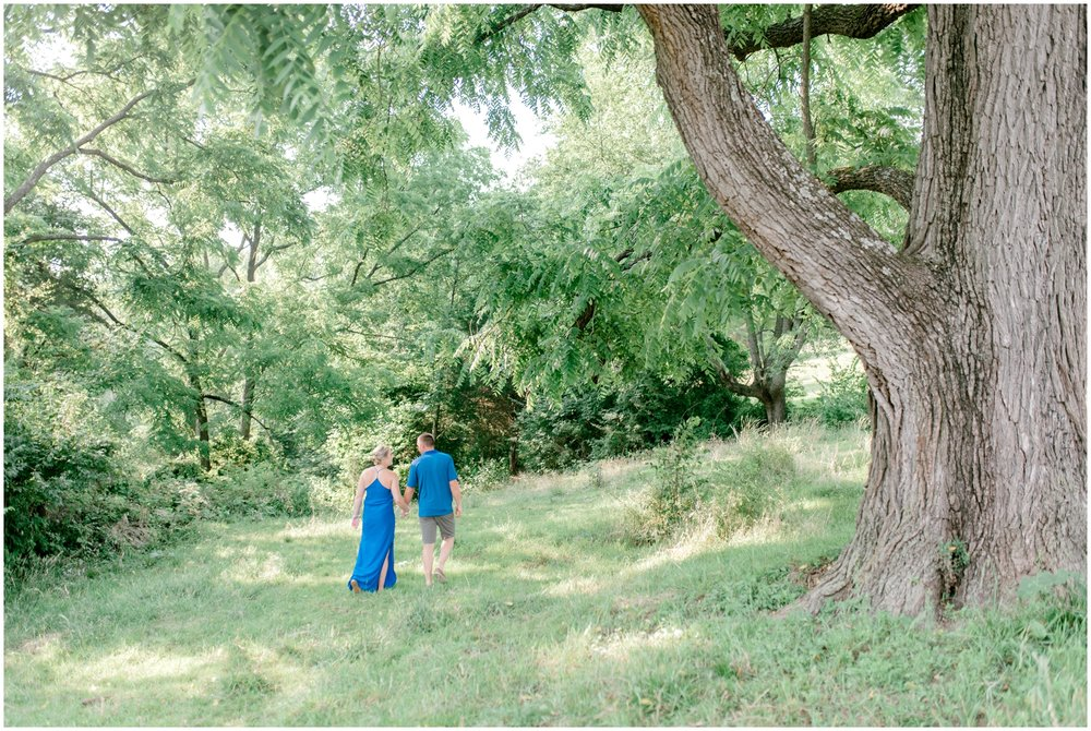 Summer Private Farm Engagement Session - Krista Brackin Photography_0003.jpg