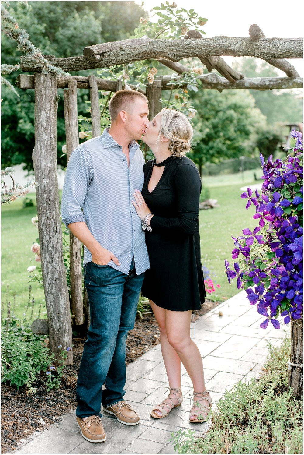 Summer Private Farm Engagement Session - Krista Brackin Photography_0011.jpg