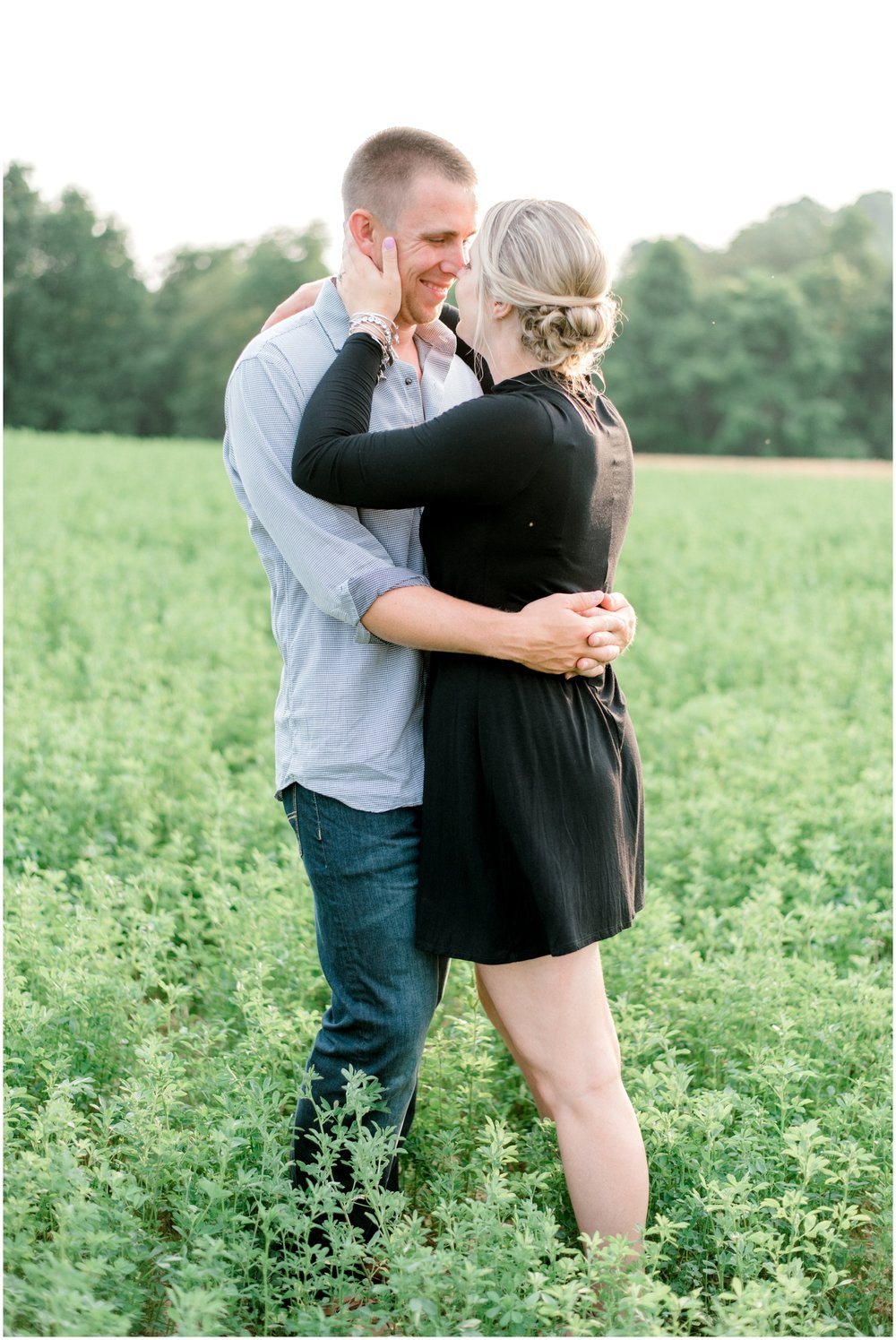 Summer Private Farm Engagement Session - Krista Brackin Photography_0021.jpg