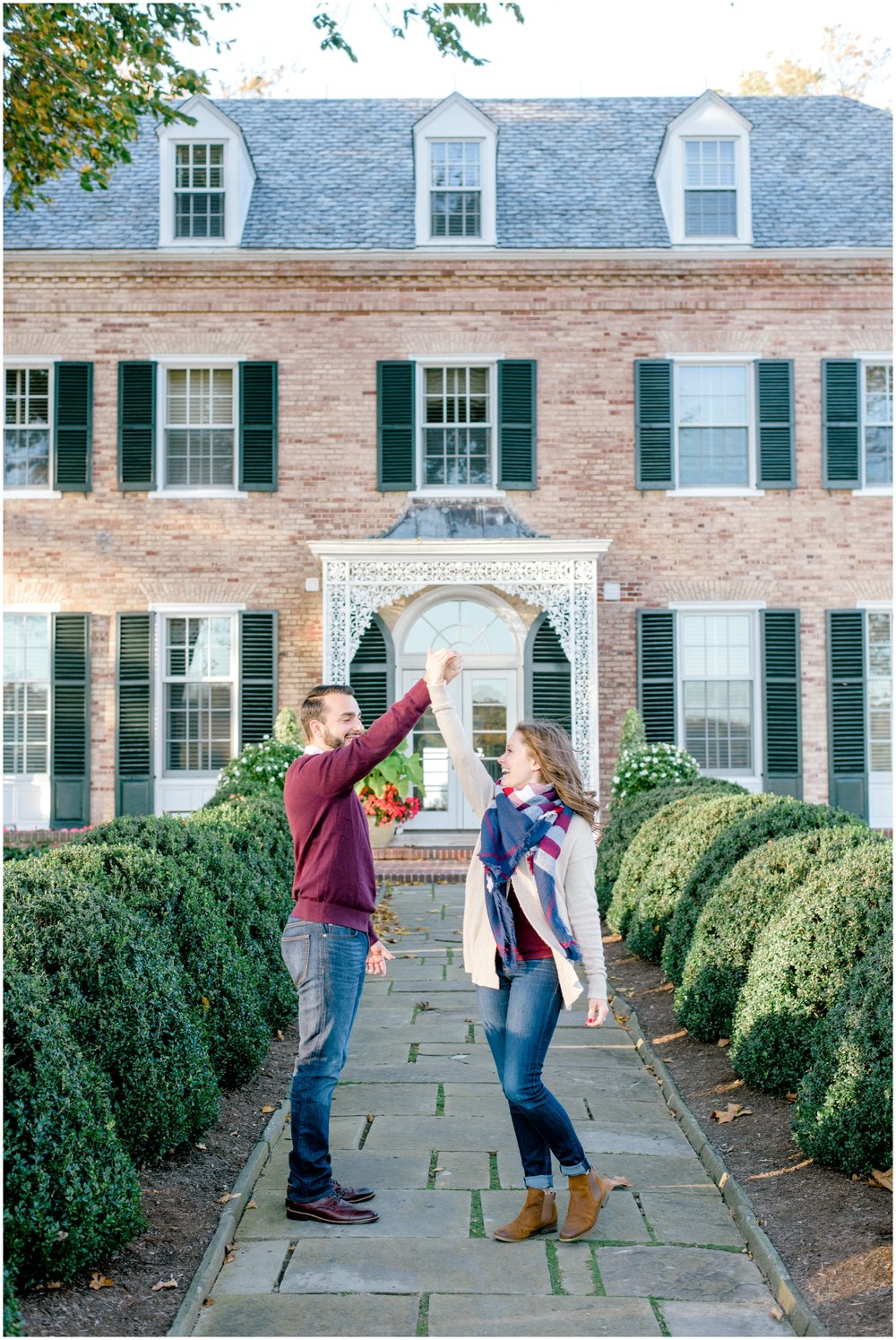Fall Engagement Session at The Drumore Estate in Lancaster County - Krista Brackin Photography_0008.jpg