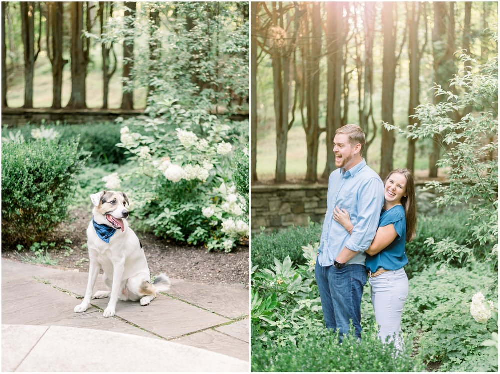 Summer Engagement Session at Hunting Hill Mansion - Krista Brackin Photography_0005.jpg