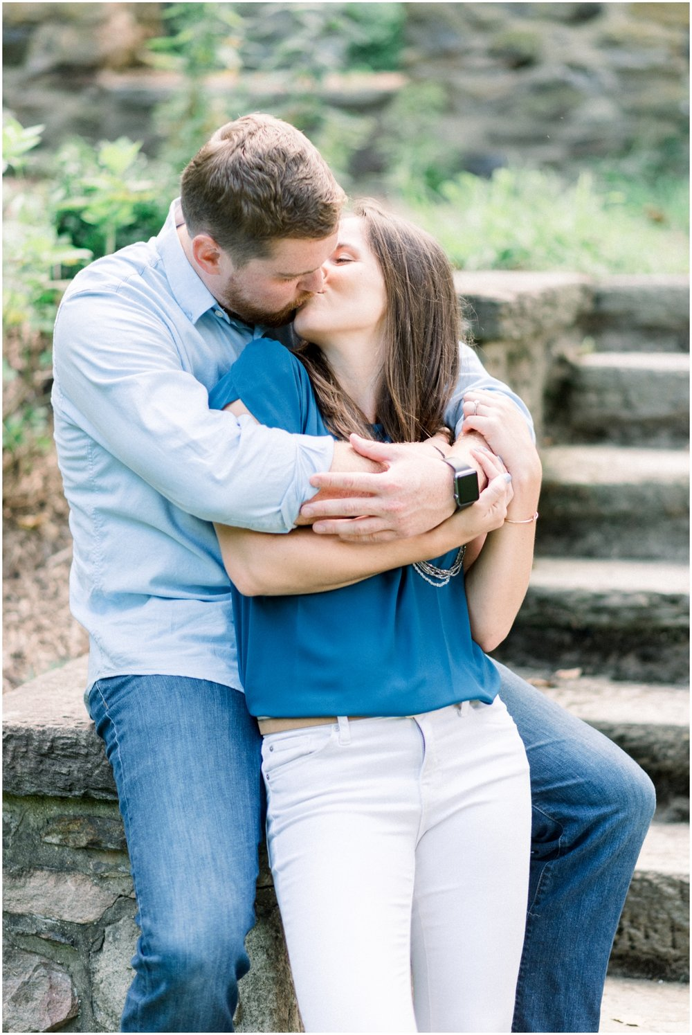 Summer Engagement Session at Hunting Hill Mansion - Krista Brackin Photography_0034.jpg