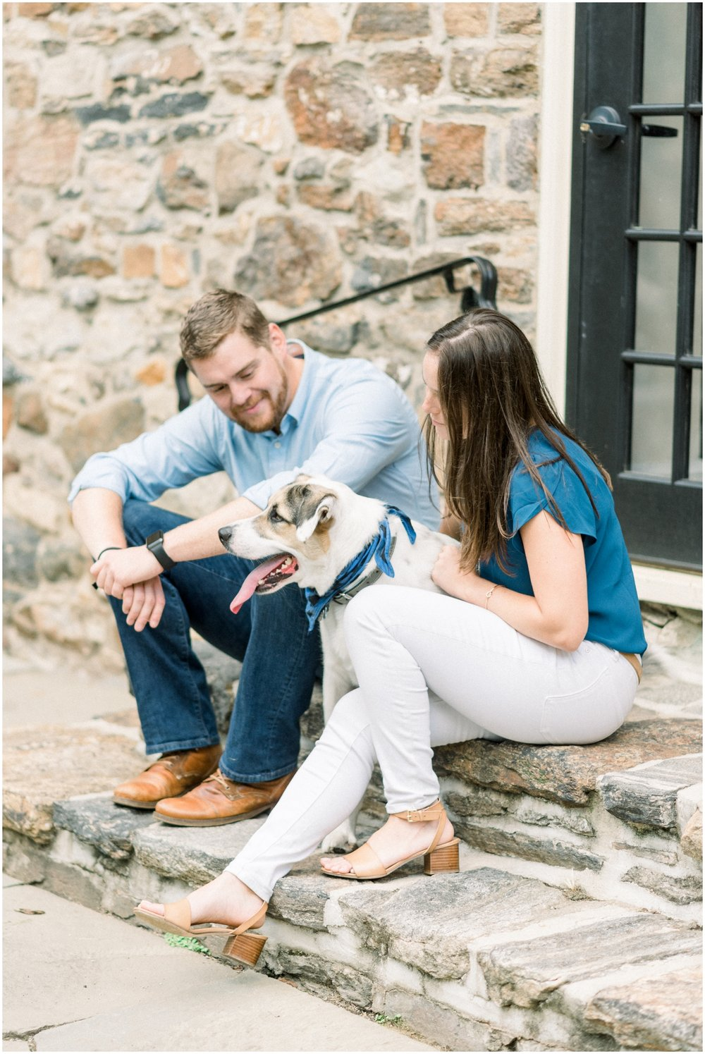 Summer Engagement Session at Hunting Hill Mansion - Krista Brackin Photography_0042.jpg