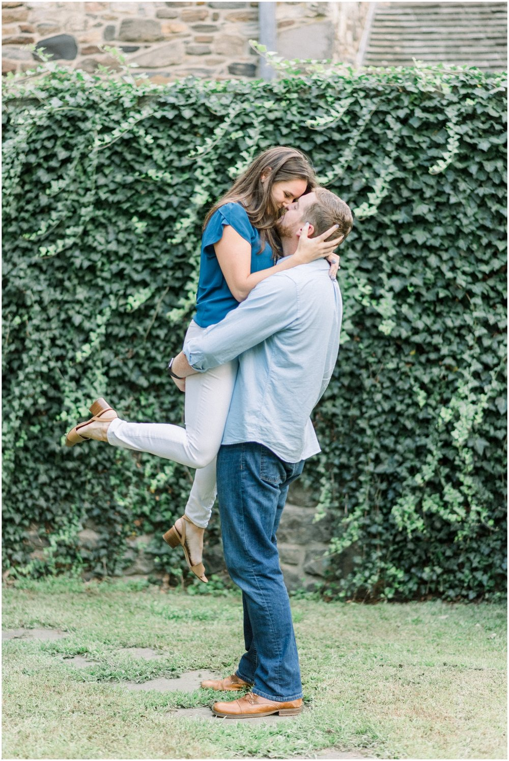 Summer Engagement Session at Hunting Hill Mansion - Krista Brackin Photography_0047.jpg