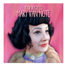 "Mary Van Note  is a comedian of the weird variety. She is the creator and star of the award-winning Independent Film Channel web series The Mary Van Note Show: Gavin Really Wants Me. She is a SF Weekly Masterminds grant recipient, a seven-time SF Sketchfest performer, and an Andy Kaufman Award Semi-Finalist. The San Francisco Bay Guardian called her a ""Zine-Queen Comedian"" as she regularly makes zines, crafts and mini-comics. Her specialties are stick-figures and cross-stitch."