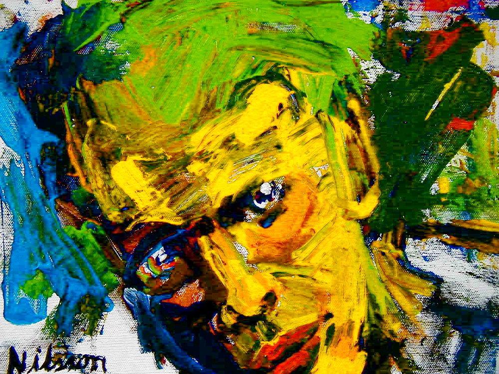 Self Portrait by Rob Nilsson